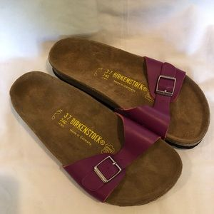 Birkenstock Women Madrid Sandals Purple Pink EU37